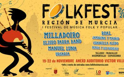 Nace el Folkfest Región de Murcia