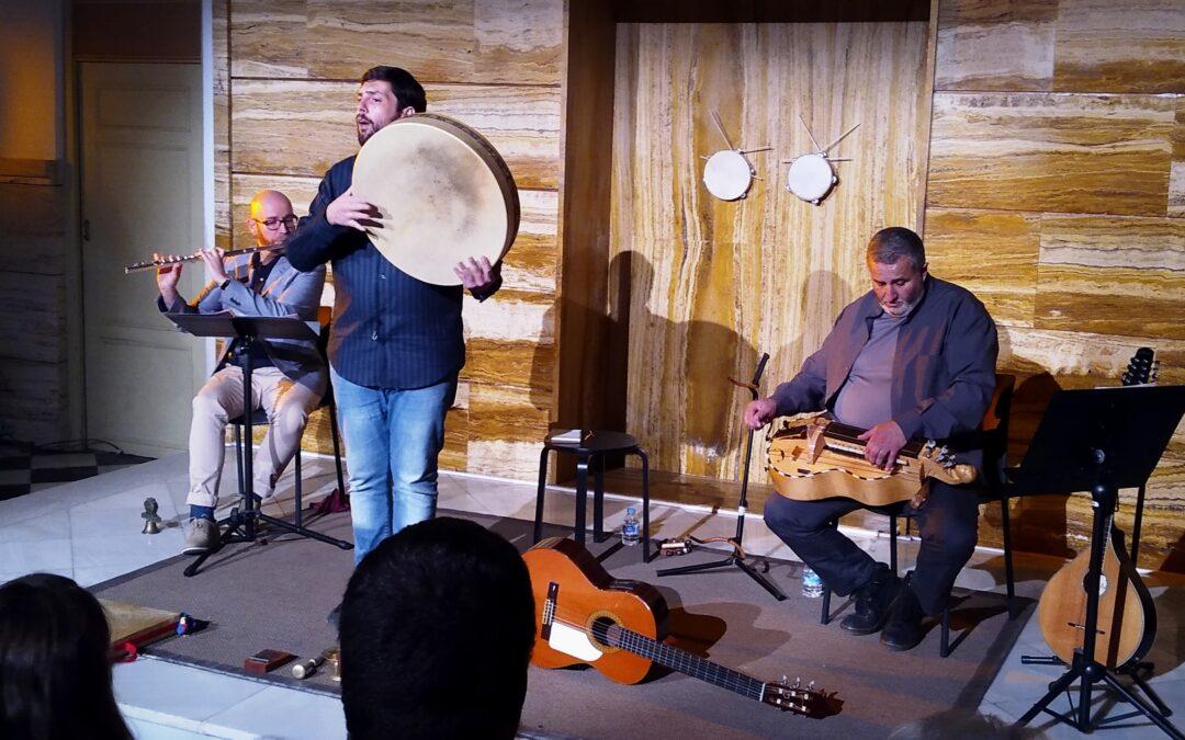 Manu Sequera: nuevo trío folk en Murcia