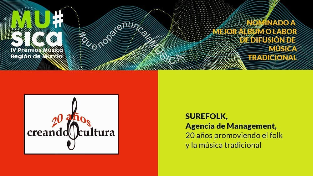 Surefolk nominada en los Premios de la Música 2020